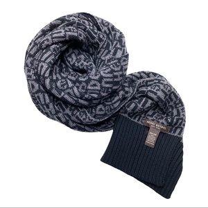Henri Bendel Logo scarf